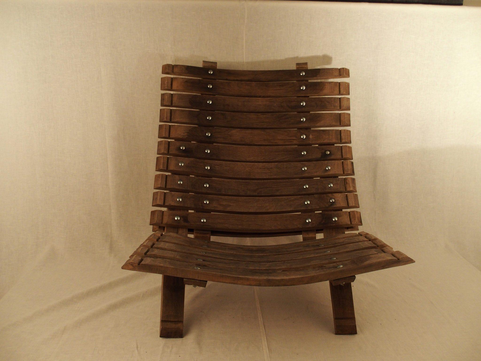 Lounge chair van duigen